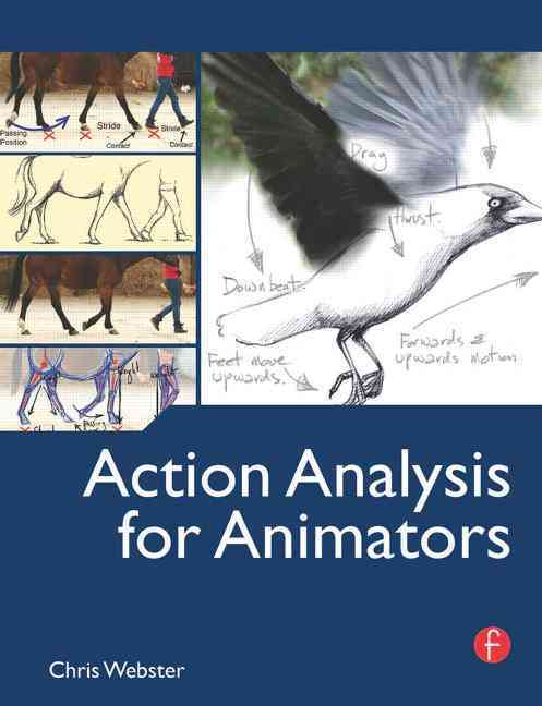Action Analysis for Animators By Webster, Chris